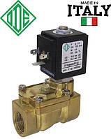 """Электромагнитный клапан 1/2"""", -10+140°С, 21WA4KOЕ130 ODE Италия, нормально закрытый для пара. Электроклапан."""