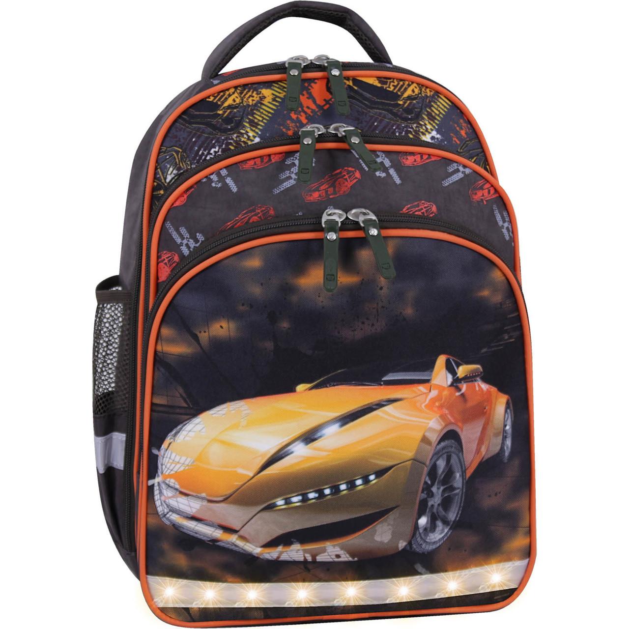 Рюкзак школьный ортопедический для мальчика в 1-3 класс Bagland 666 (00513702)