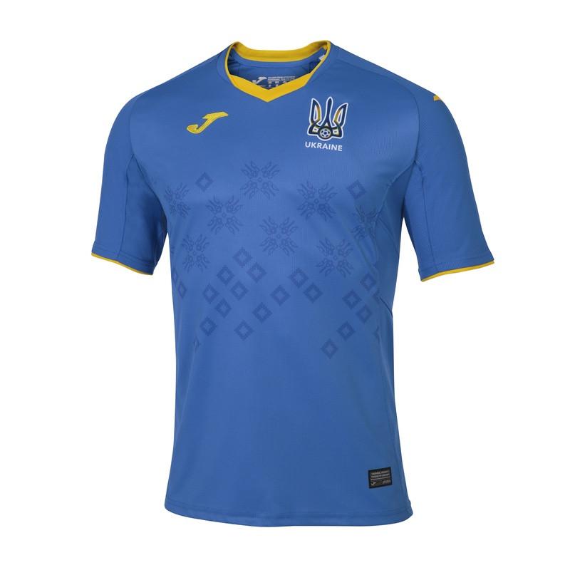 Футбольная форма сборной Украины выездная 2021