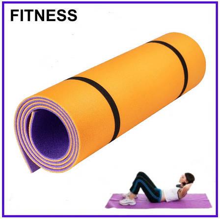 Коврик для фитнеса Optima Plus 8 1800х600х8мм, фото 2