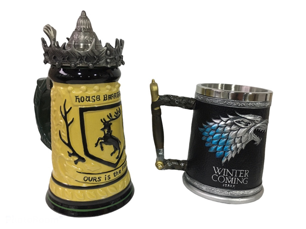 Подарунковий набір Гуртка Game Of Thrones House Герб Баратеонов Гра Престолів і Winter Is Coming Stark