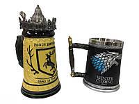 Подарунковий набір Гуртка Game Of Thrones House Герб Баратеонов Гра Престолів і Winter Is Coming Stark, фото 1