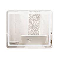 Зеркало для ванной с антизапотеванием 1000х800 Qtap Mideya LED подсветка DC-F910