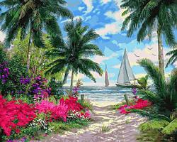 Картины по номерам 40×50 см Mariposa Тропики (Q 2253)