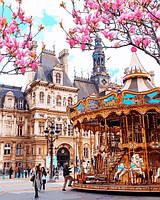 Картины по номерам 40×50 см Mariposa Путешествие В Париж (Q 2256)