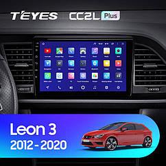 Штатная магнитола Teyes Seat Leon 3 (2012-2020) Android