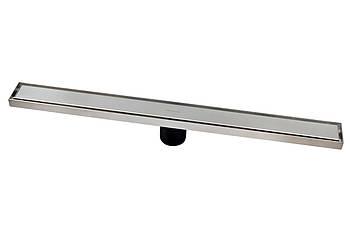 A1 Душевой канал MAGdrain зеркальный 55х600 мм с сухим магнитным сифоном H-80