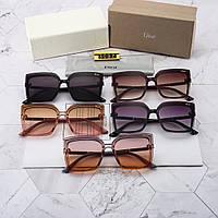 Женские солнцезащитные очки квадратные Диор реплика