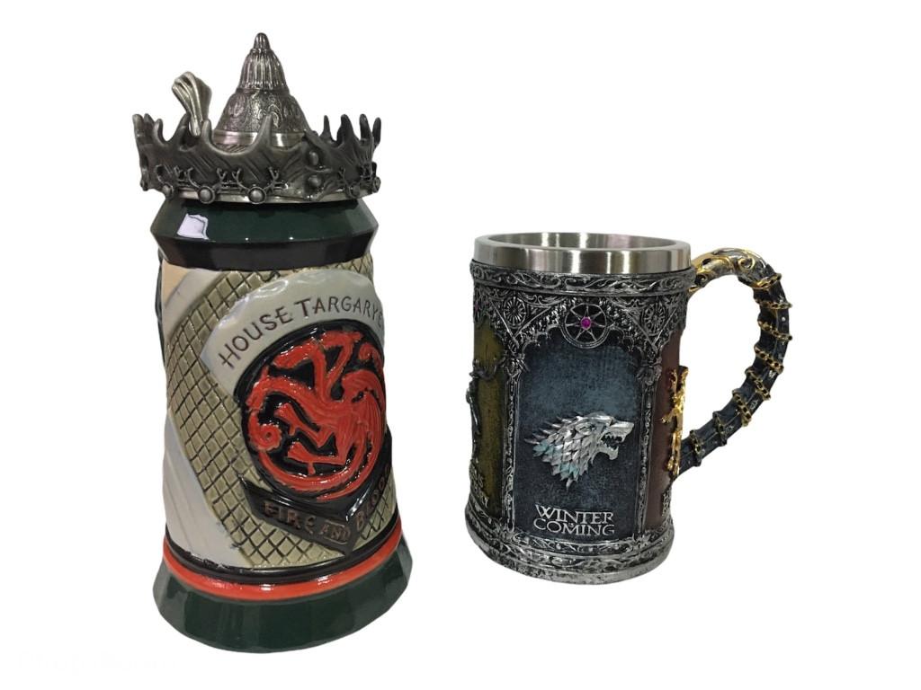 Подарочный набор Кружка Game Of Thrones House Targaryen Fire And Blood Игра Престолов и Winter Coming