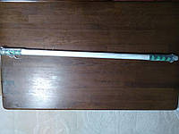 Турник в дверной проем 95-110 см , с мягкими неопреновыми ручками, фото 1