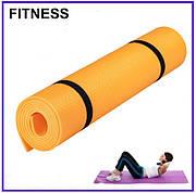 Каремат Фитнес 1400х500х5мм (оранжевый)