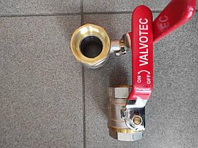 Кран кульовий 1 1\2 дюйма в\в Valotek PN40для води, фото 3