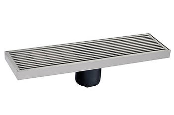 A2 Душевой канал MAGdrain  матовый 100х300 мм с сухим магнитным сифоном Н-85
