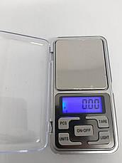 Ваги кишенькові, ювелірні pocket scale mh-100, 100 м, крок - 0,01 г, фото 2