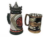 Подарунковий набір Гуртка Game Of Thrones House Targaryen Fire And Blood Гра Престолів і Сім Королівств, фото 1