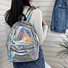 Невеликий рюкзак голограммный, фото 8