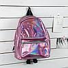 Невеликий рюкзак голограммный, фото 4