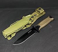 Тактический нож Gerber АК-207 Охотничий нож в чехле для выживания, охоты, рыбалки и туризма