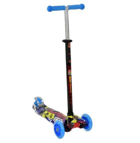Дитячий триколісний самокат синій, Best Scooter Maxi