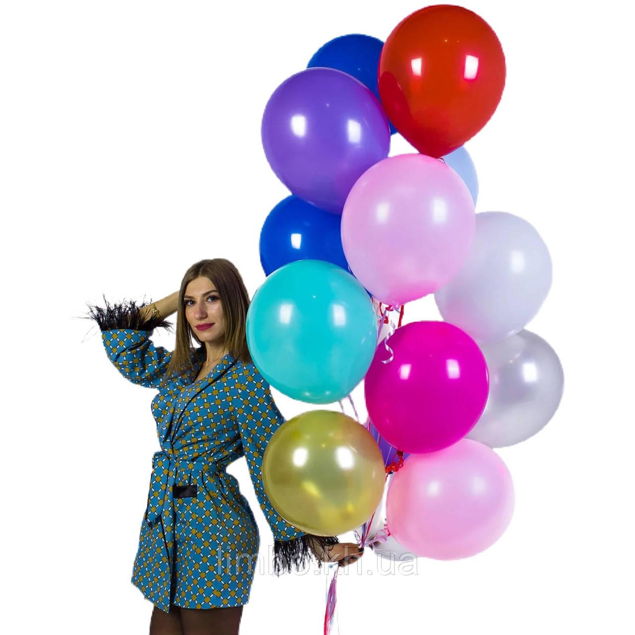 Гелієві кулі на день народження