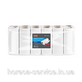 Бумажные полотенца целлюлоза Pro-Service двухслойные 12 шт.
