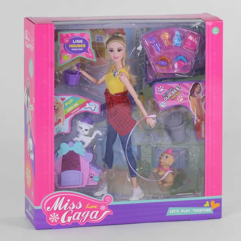 Лялька 51805 (30/2) 2 вихованця, аксесуари, будка, в коробці