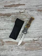 Тактический нож GERBFR 2148В в комплекте с универсальным выкидным ножом АК-29 / 21 см, фото 2