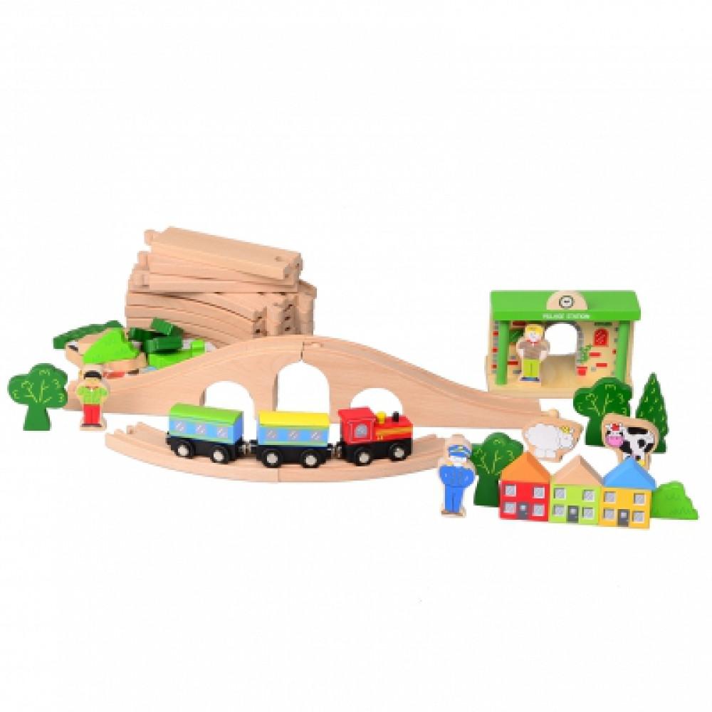 Железная дорога (деревянная)