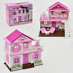 """Будиночок """"Щаслива родина"""" 1515 (6) 1 фігурка, з меблями, підсвітка, в коробці"""
