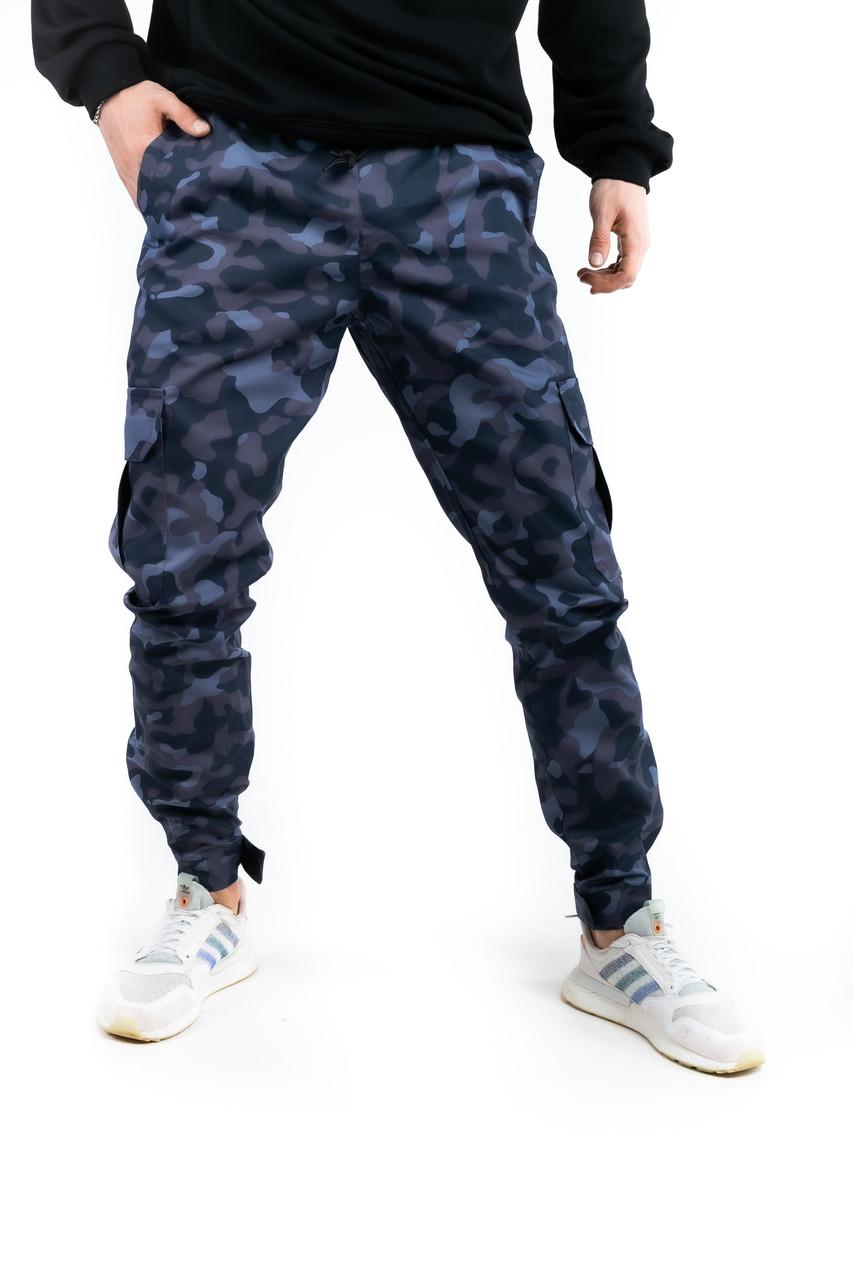 """Котоновые штаны """"Baza"""" Intruder камуфляж L Синий (1613385102/2)"""