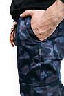 """Котоновые штаны """"Baza"""" Intruder камуфляж L Синий (1613385102/2), фото 4"""