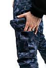 """Котоновые штаны """"Baza"""" Intruder камуфляж L Синий (1613385102/2), фото 5"""