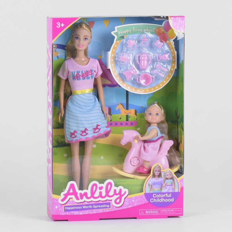 Лялька 99224 (24/2) дитина, гойдалка, аксесуари, в коробці