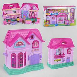 Будиночок 16526 F (8) з меблями, світло, звук, в коробці