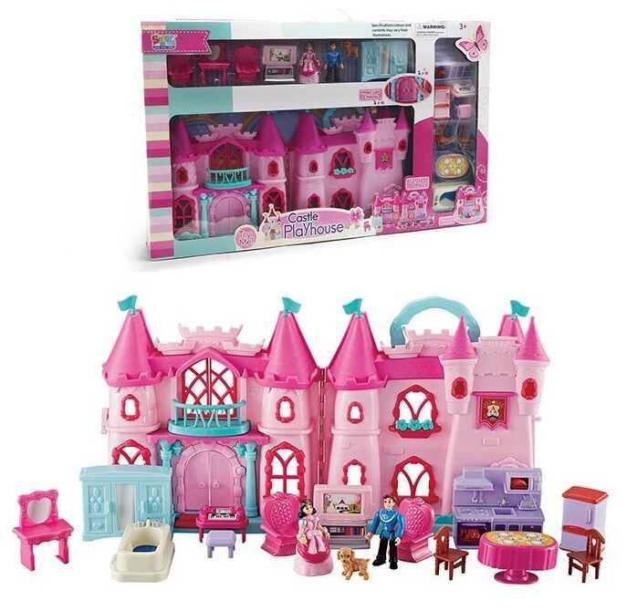 Будиночок 16830 (10) фігурки персонажів, аксесуари, світло, звук, в коробці