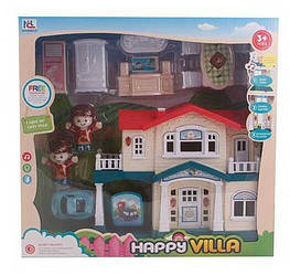 Будиночок 6644 (30) світло, звук, 2 персонажа, меблі, на батарейках в коробці