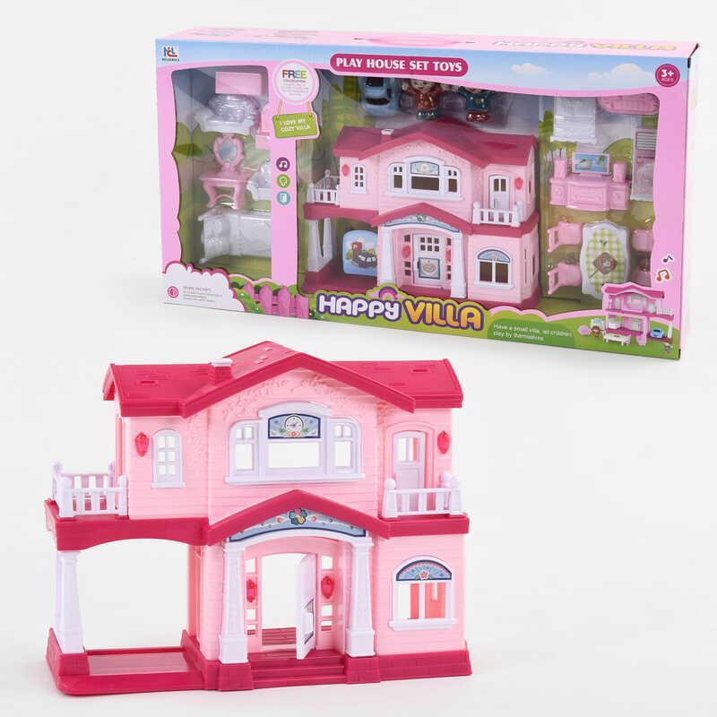 Будиночок 6647 (20) світло, звук, 2 персонажа, меблі, в коробці