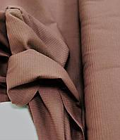 Вафельние полотно однотон Світло-коричневе 150 см, фото 1