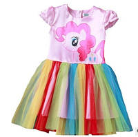 Платье карнавальное Пони единорог My Little Pony Pinkie Pie Пинки Пай р. 110 - 150