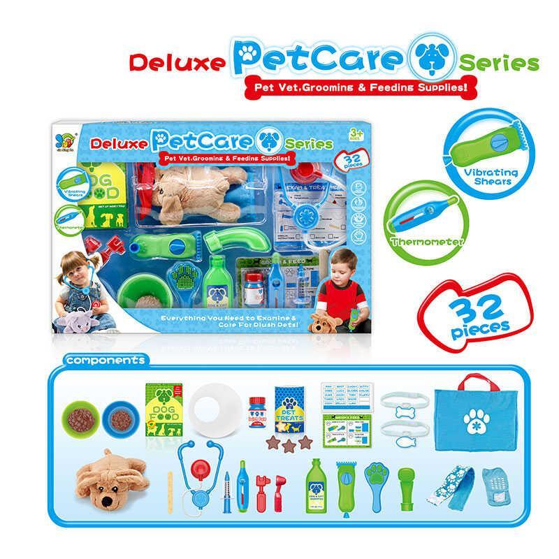 Набір ветеринара 699-1 А/В (12) 32 предмета, вихованець, в коробці