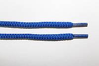 Шнурки круглые 6мм плотные, василек (электрик)