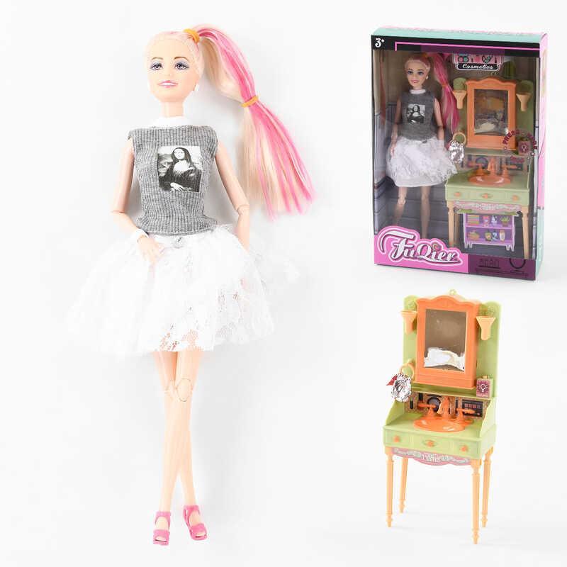 """Лялька JX 300-39 (36/2) """"Ванна кімната"""", умивальник, світло, звук, аксесуари, в коробці"""