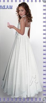 e684e03f641 Детское нарядное платье Снежинка(Натали) белая - прокат