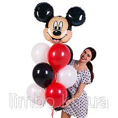 Шарики для день рождения с фигурой  Микки Маус