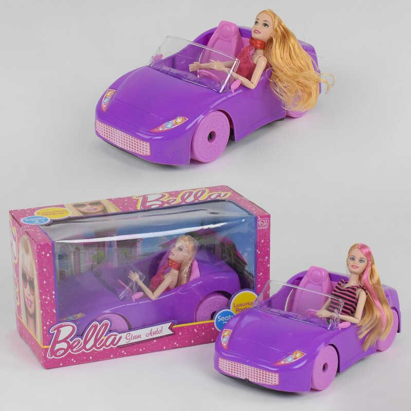 Кукла с машиной DS 008 А (24/2) кукла, машина, в коробке