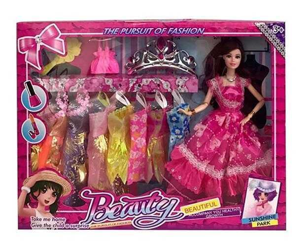 Лялька з нарядом R 837 - R 838 (48/2) аксесуари, в коробці