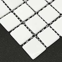 Мозаика MK25105 SUPER WHITE снежно-белая облицовочная для ванной, душевой, кухни