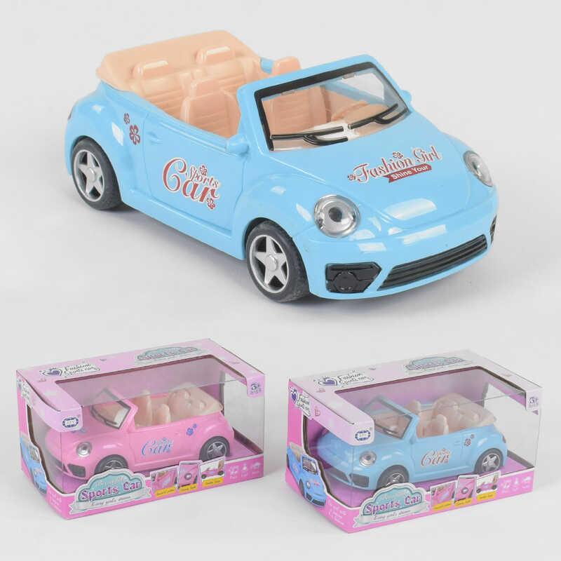 Машинка для куклы ST 66-36 (72/2) 2 цвета, свет, звук, в коробке