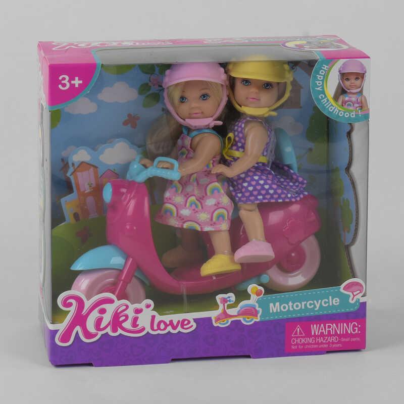 Набор кукол 88007 (60/2) мопед, в коробке
