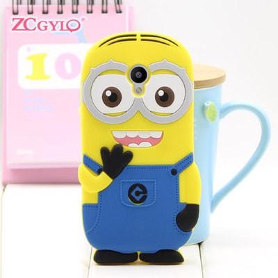 "Meizu M2 mini 5.0"" оригинальный гадкий я посипака SOFT TPU 3D чехол бампер для телефона ""МИНЬОН MINION"""